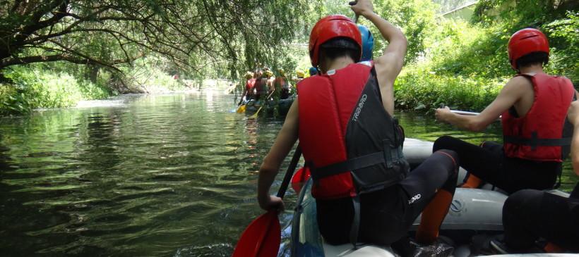 Alcune foto dell'iniziativa ambientale sul fiume Corno (Norcia)