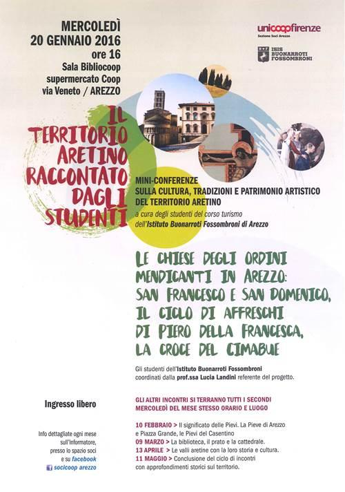 iniziativa presso l'Uicoop di Arezzo