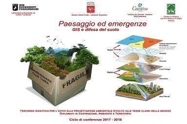 Locandina Paesaggio Emergenze 2017/18