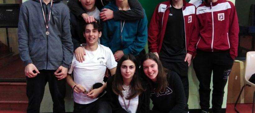 Gara di TENNIS TAVOLO PROVINCIALE – 15/02/2019